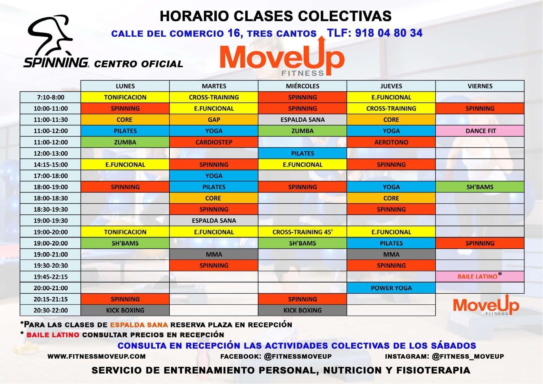 Horario NOVIEMBRE19 inicio gimnasio fitness move up gimnasio en tres cantos fitnessmoveup - Horario NOVIEMBRE19 page 0001 - Inicio